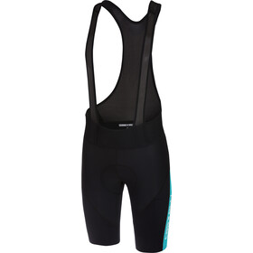 Castelli Velocissimo IV Bib Shorts Men black/sky blue